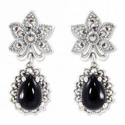 marcasite earring HE0805 1
