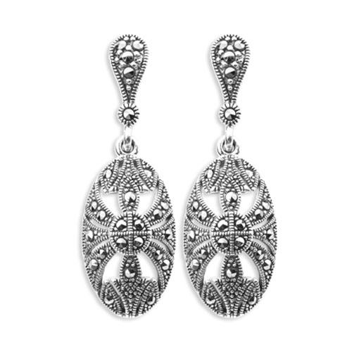 marcasite earring HE0808 1