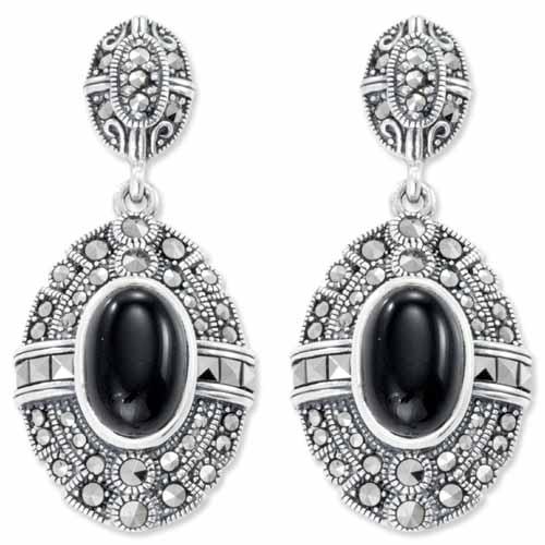 marcasite earring HE0809 1