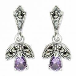 marcasite earring HE0810 1
