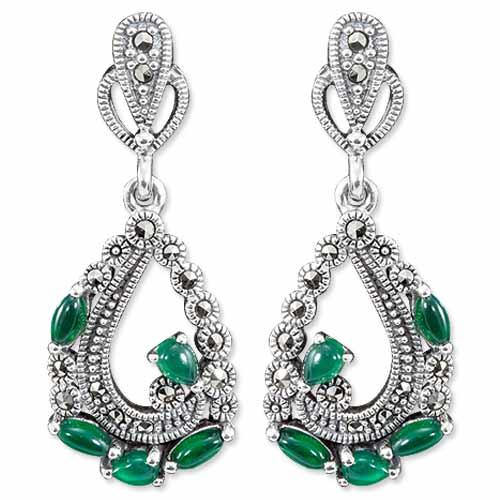 marcasite earring HE0811 1