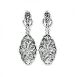 marcasite earring HE0816 1
