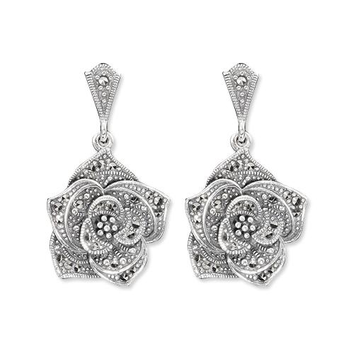 marcasite earring HE0818 1