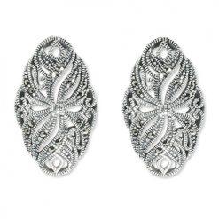 marcasite earring HE0825 1