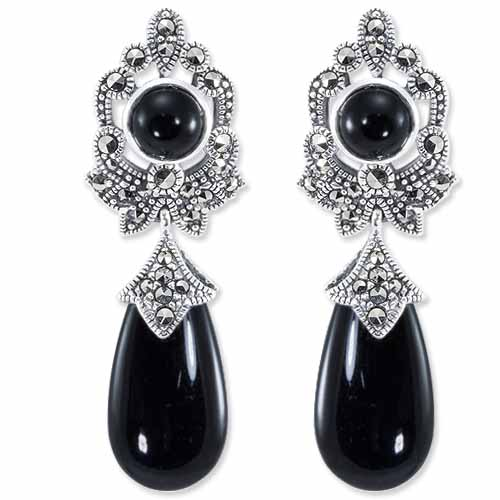 marcasite earring HE0828 1