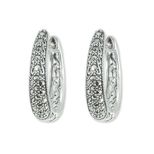 marcasite earring HE0829 1