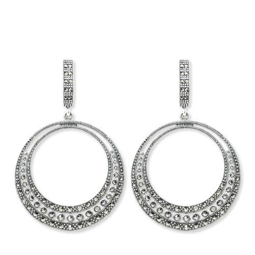 marcasite earring HE0838 1