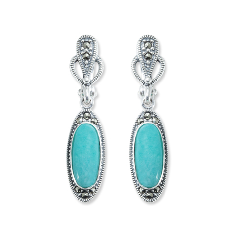 marcasite earring HE0840 1