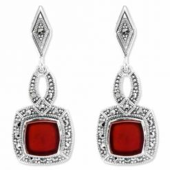 marcasite earring HE0848 1