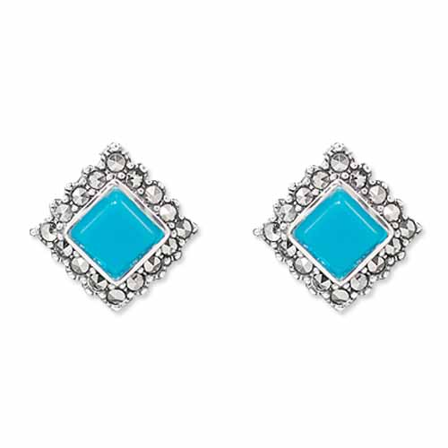marcasite earring HE0865 1