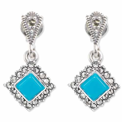 marcasite earring HE0866 1