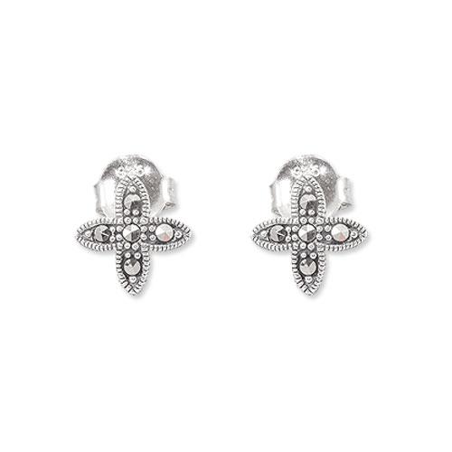 marcasite earring HE0868 1