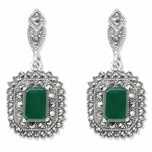 marcasite earring HE0877 1