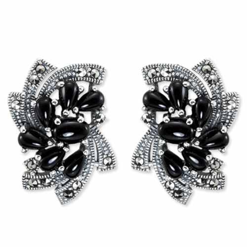 marcasite earring HE0878 1