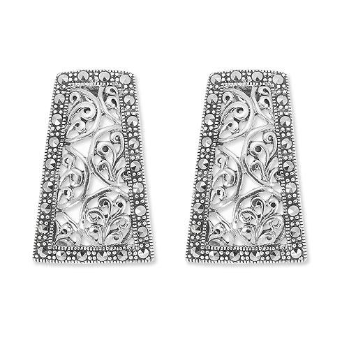 marcasite earring HE0884 1