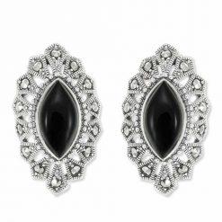 marcasite earring HE0890 1