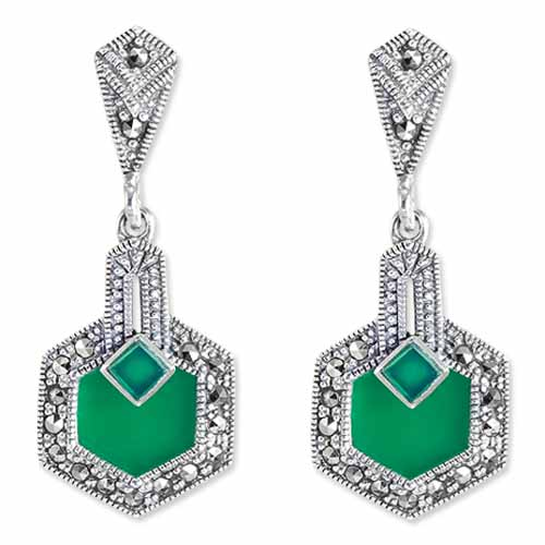 marcasite earring HE0895 1
