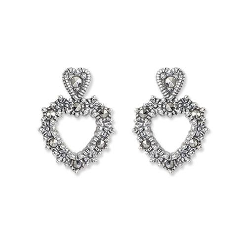 marcasite earring HE0897 1