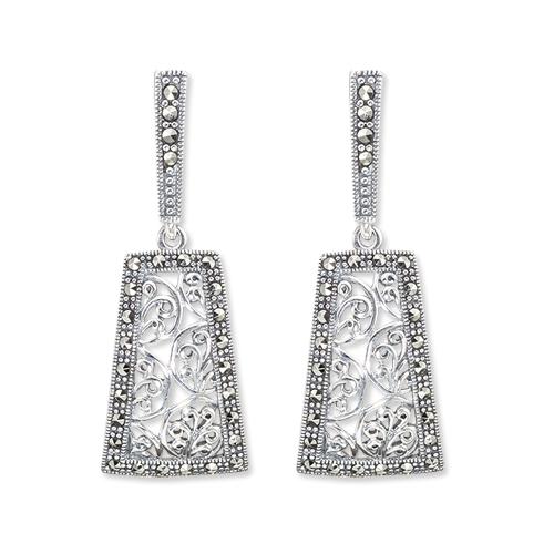 marcasite earring HE0899 1