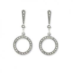 marcasite earring HE0905 1