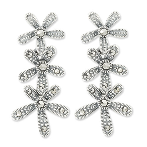 marcasite earring HE0906 1