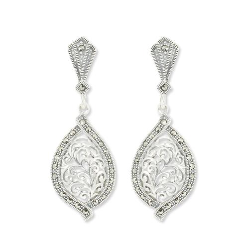 marcasite earring HE0910 1