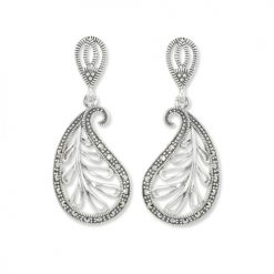 marcasite earring HE0911 1