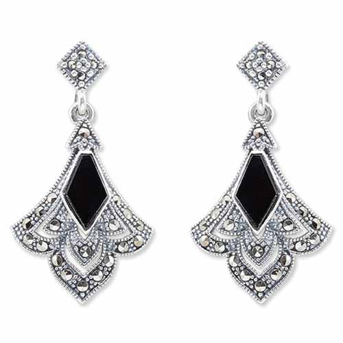 marcasite earring HE0932 1