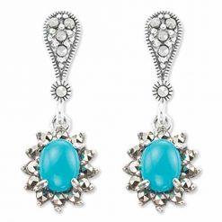 marcasite earring HE0933 1