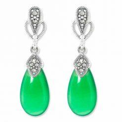 marcasite earring HE0936 1