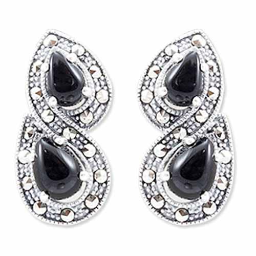 marcasite earring HE0938 1