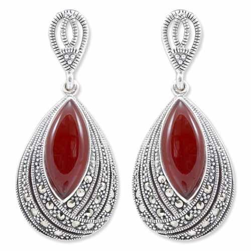 marcasite earring HE0941 1