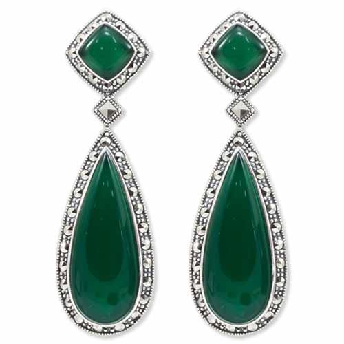 marcasite earring HE0949 1