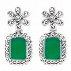 marcasite earring HE0951 1
