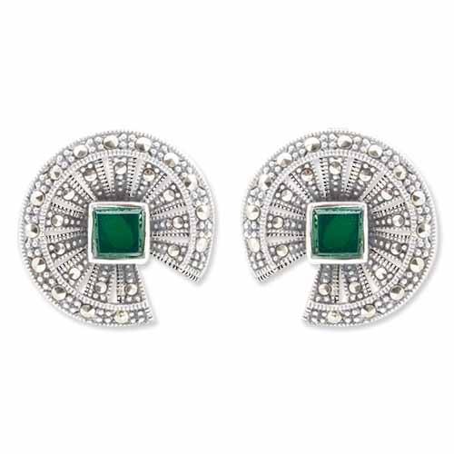 marcasite earring HE0953 1