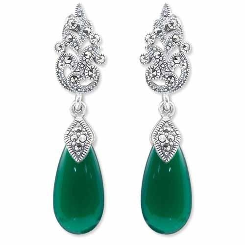 marcasite earring HE0957 1