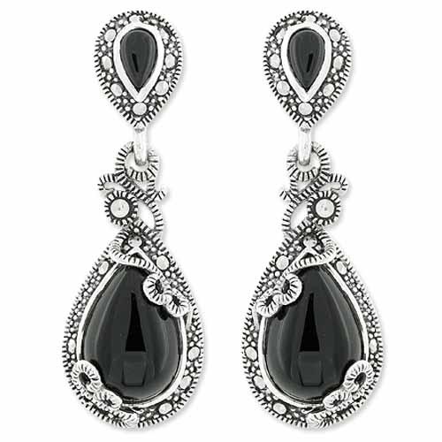 marcasite earring HE0958 1