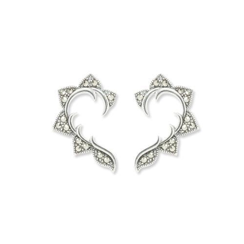 marcasite earring HE0972 1