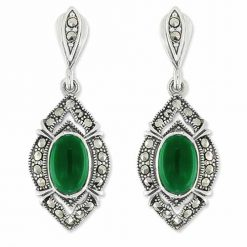 marcasite earring HE0973 1
