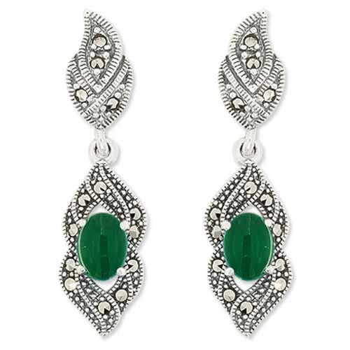 marcasite earring HE0974 1