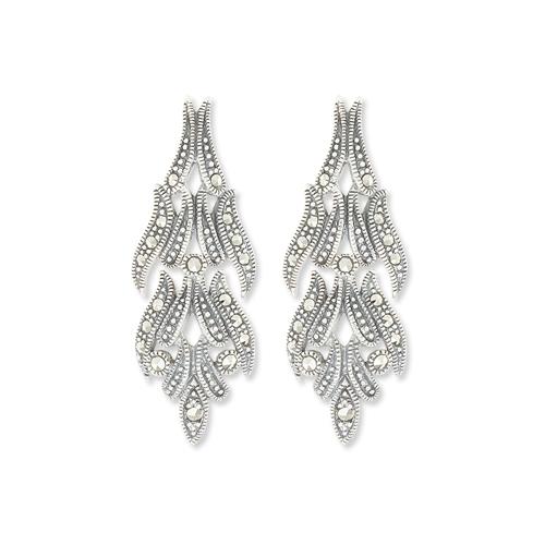 marcasite earring HE0975 1