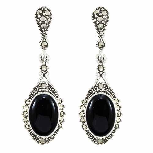 marcasite earring HE0976 1