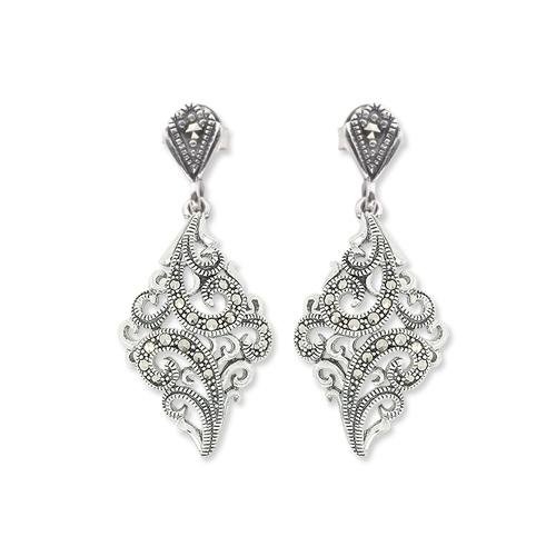 marcasite earring HE0991 1