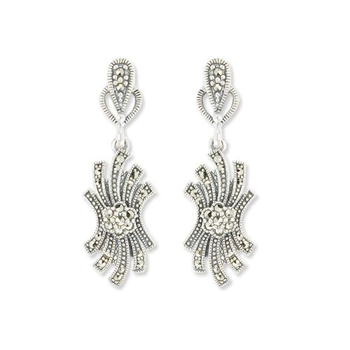 marcasite earring HE0996 1