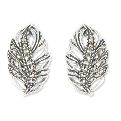 marcasite earring HE0997 1