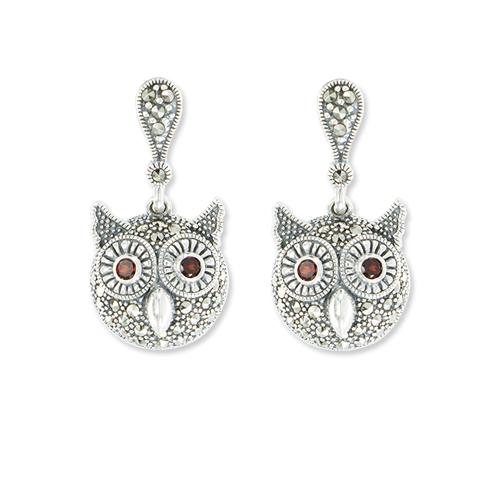marcasite earring HE0998 1