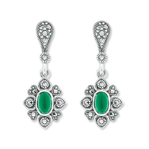 marcasite earring HE1004 1