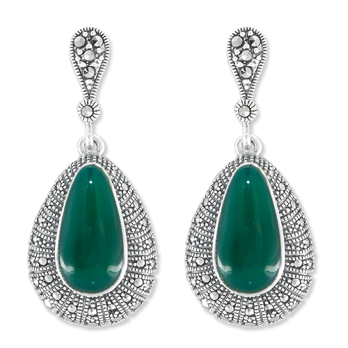marcasite earring HE1024 1