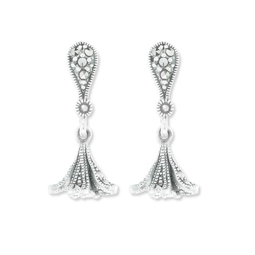 marcasite earring HE1030 1