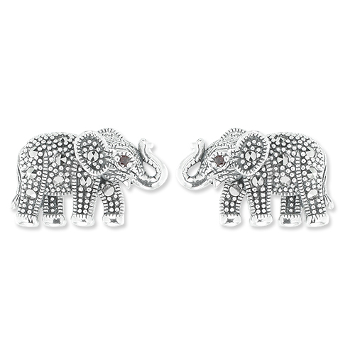 marcasite earring HE1037 1